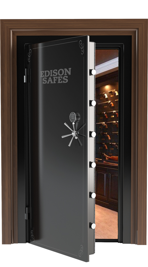 Edison Safes 80 Quot X 35 Quot Vault Door 30 60 Minute Fire