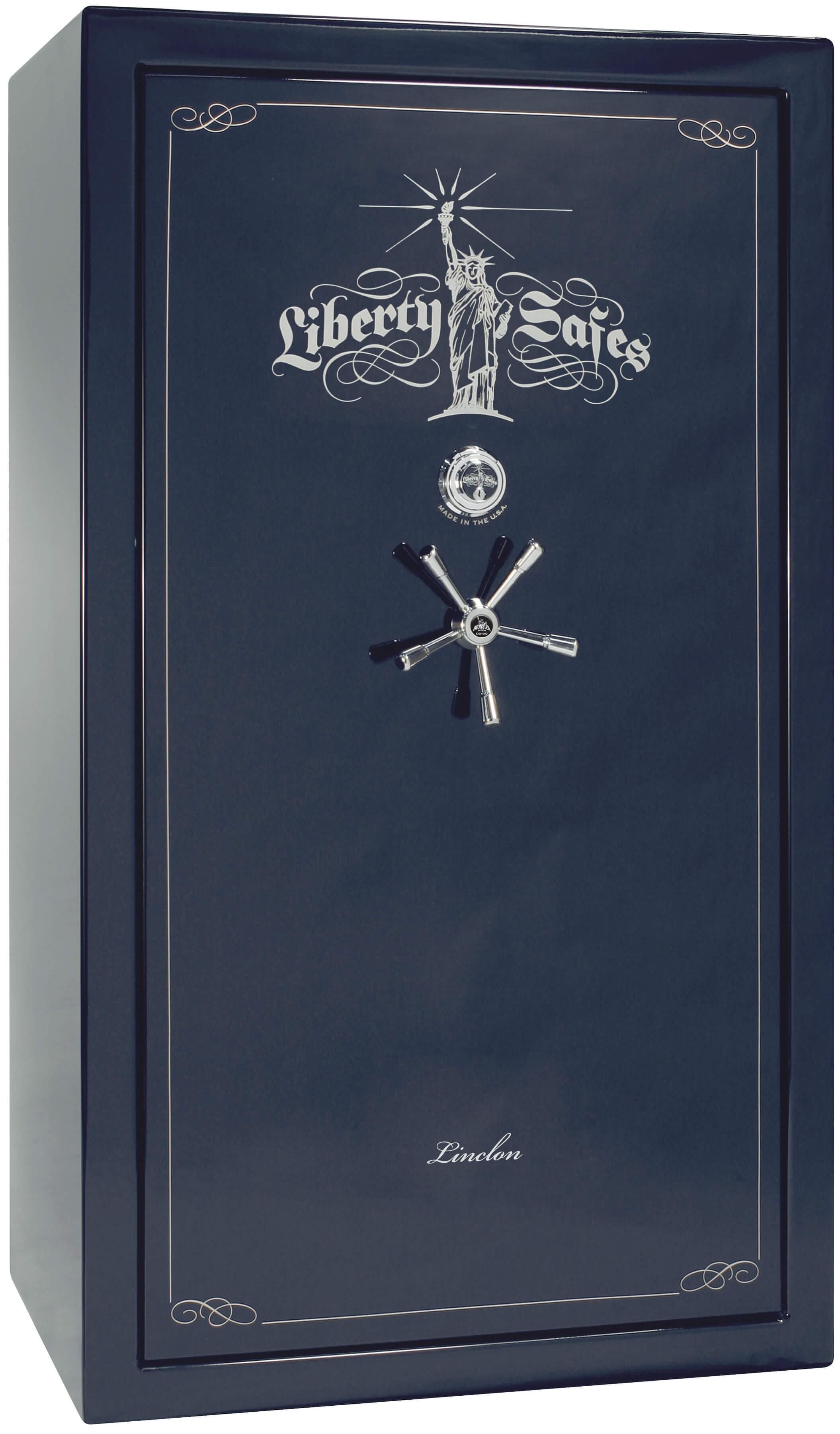 Liberty Gun Safe - Lincoln Series 50 - USA Made 41 Gun Safe - 90 Min @  1200° Fire Rating