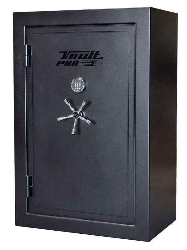 Black Gun Safe In Living Room Decor: Vault Pro Silver Eagle Series