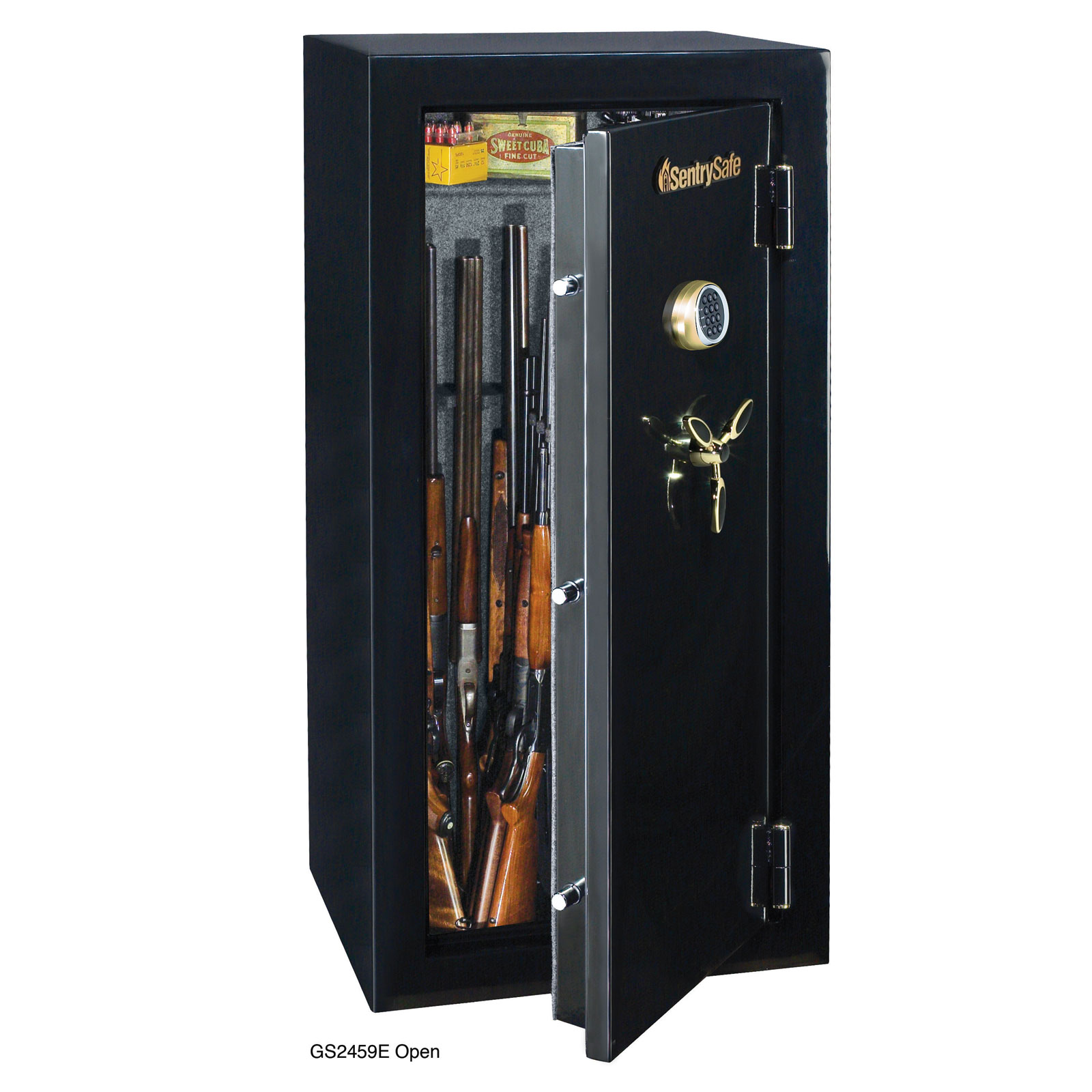 Sentry 2459E Gun Fire Safe with Electronic Lock - 24-Gun GS2459E