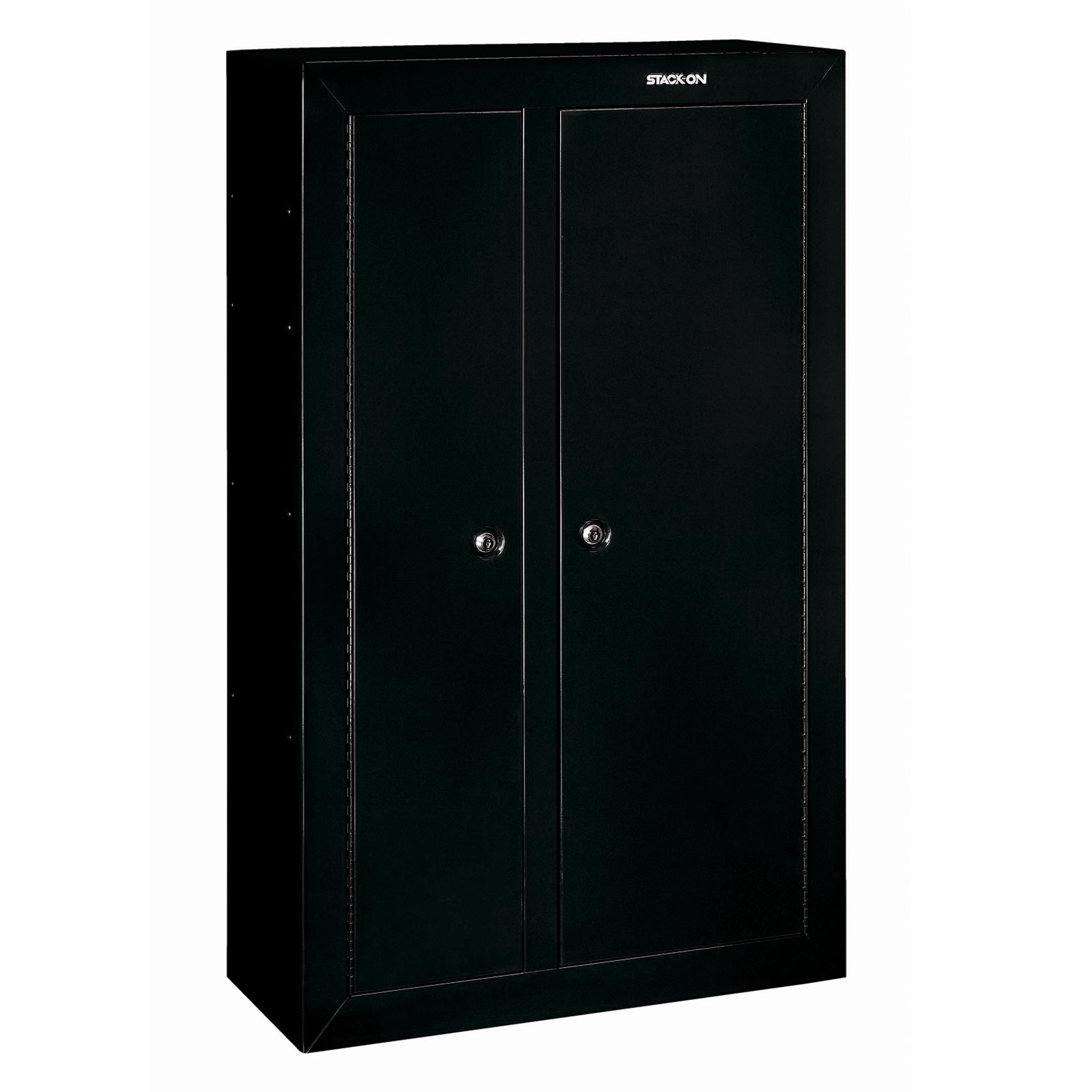 Stack on gcdb 924 gun cabinet double door steel security for 10 gun double door steel security cabinet