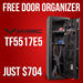 American Security TF5517E5 w/ Free Door Organizer - TF5517E5-QS