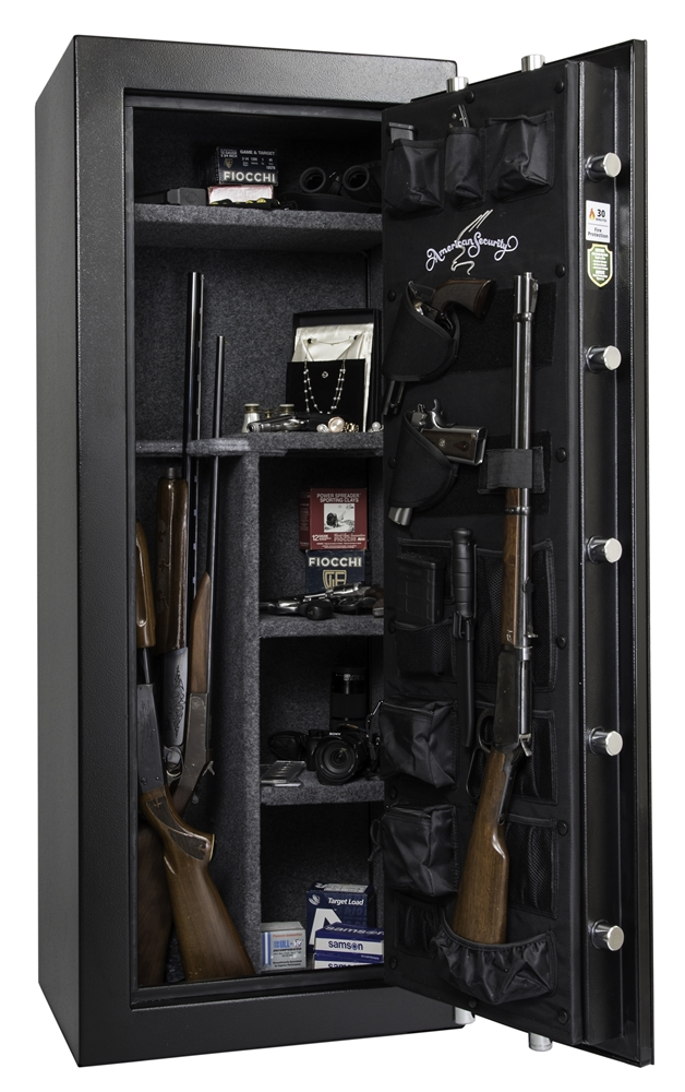 Black Gun Safe In Living Room Decor: American Security TF5924E5
