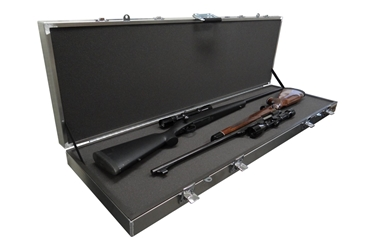 Americase AT-EC-5216L Aluma-Trans Two Scoped Rifles or Shotguns