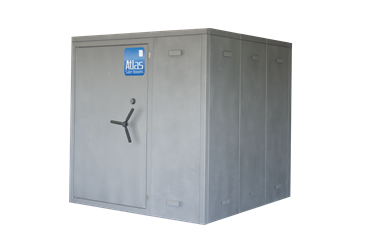 "Atlas Safe Rooms - Alternate Series - 14 Person Safe Room - 6%27 5"" by 6%27 5"""