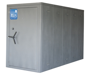 "Atlas Safe Rooms - Alternate Series - 15 Person Safe Room - 4%27 5"" by 10%27 5"""
