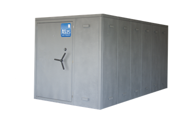 "Atlas Safe Rooms - Alternate Series - 24 Person Safe Room - 6%27 5"" by 12%27 5"""