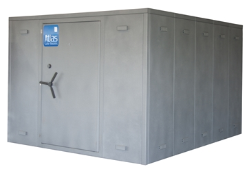 "Atlas Safe Rooms - Alternate Series - 24 Person Safe Room - 8%27 5"" by 10%27 5"""