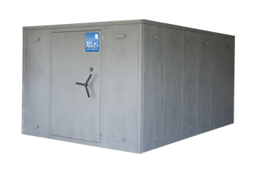 "Atlas Safe Rooms - Alternate Series - 32 Person Safe Room - 8%27 5"" by 12%27 5"""