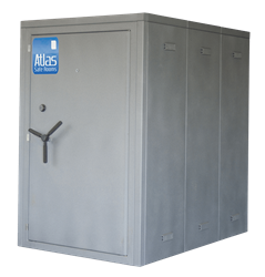 "Atlas Safe Rooms - Commander Series - 8 Person Safe Room - 4%27 5"" by 6%27 5"""
