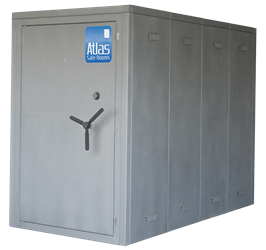 "Atlas Safe Rooms - Defender Series - 12 Person Safe Room - 4%27 5"" by 8%27 5"""