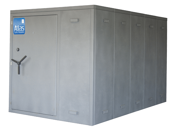 "Atlas Safe Rooms - Fortress Series - 14 Person Safe Room - 6 5"" by 8 5"""
