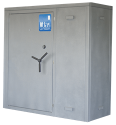 "Atlas Safe Rooms - Titan Series - 4 Person Safe Room - 6%27 5"" by 2%27 5"""