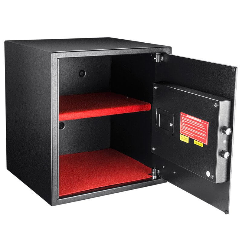 barska hq600 large biometric keypad safe ax12842. Black Bedroom Furniture Sets. Home Design Ideas