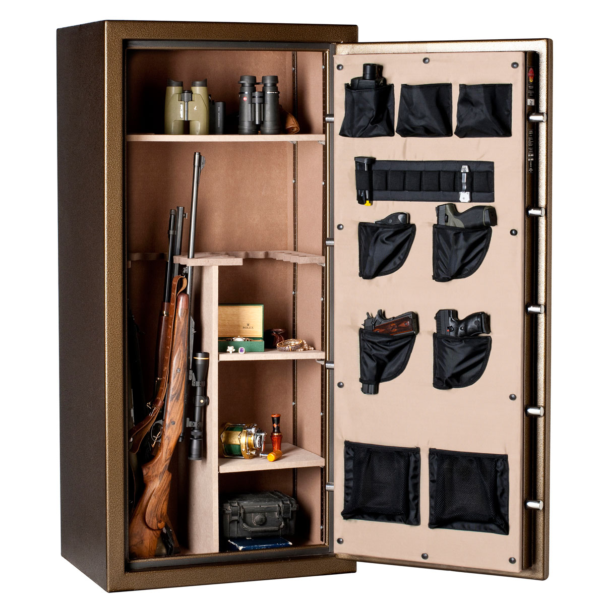 Bighorn 5928ECC-SPL Classic Gun Safe: 24 Gun/ 30 Minute Fire w/ Door Organization - GS5928ECC-SPLEL
