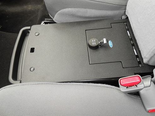 Console Vault Ford F150 Under The Middle Seat Console 2011