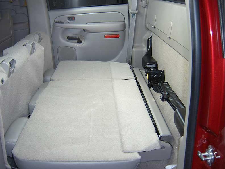 Behind The Seat Storage Gun Case 04 07 Chevrolet Gmc
