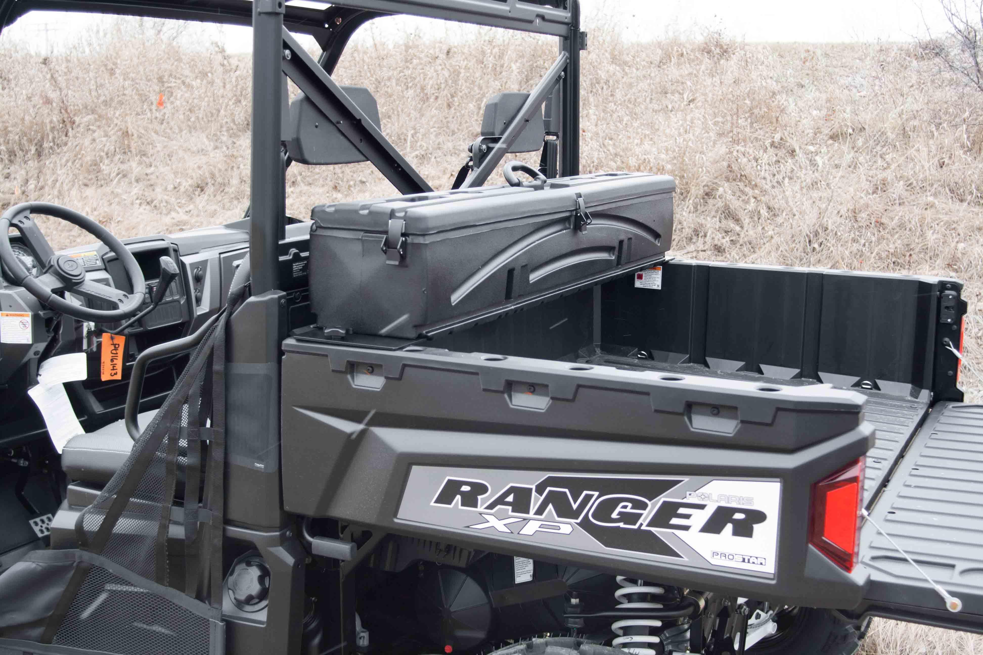 Behind The Seat Storage Gun Case For 05 17 Polaris Ranger