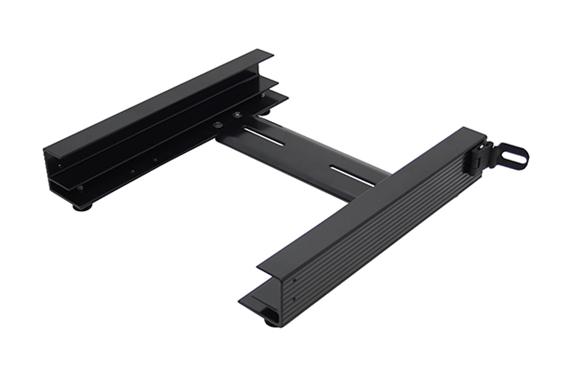 Sliding Gun Safe : Tote slide bracket black