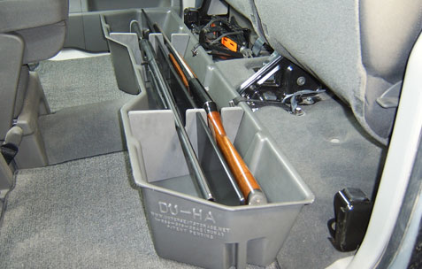 Underseat Storage Gun Case For 04 15 Nissan