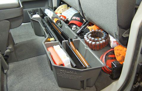 Underseat Storage Gun Case For 04 15 Nissan