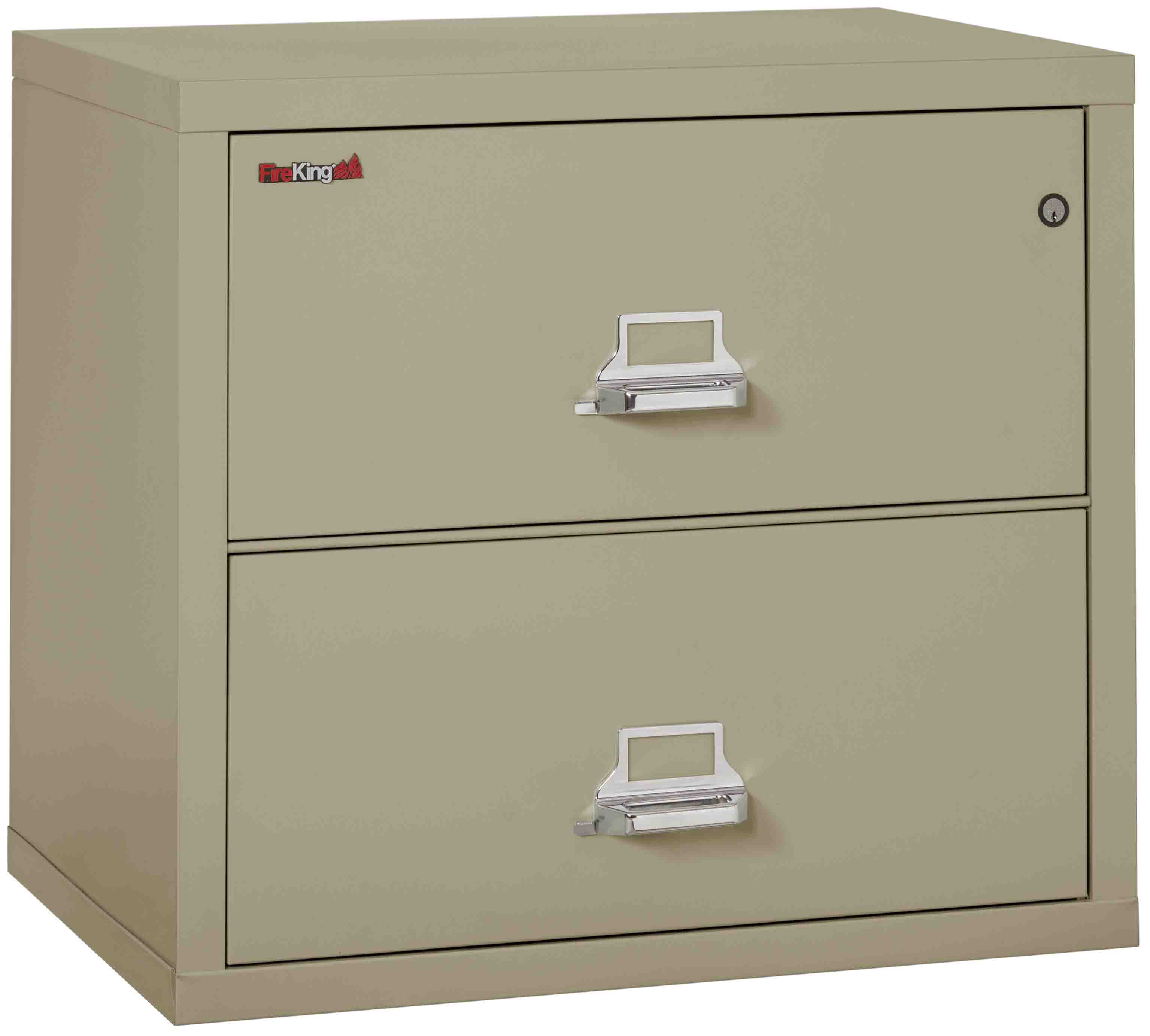 ... Fire King 2 3122 C   Lateral Fireproof File Cabinets   2 Drawer 1 ...