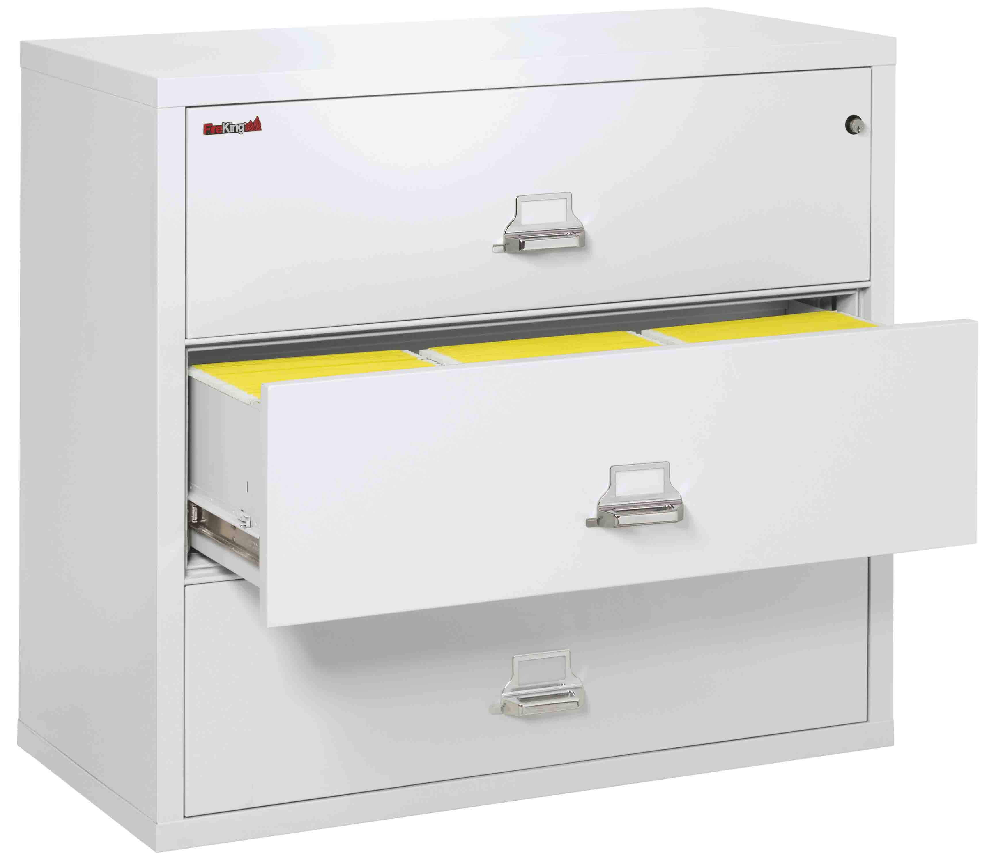 Fire King 3 4422 C   Lateral Fireproof File Cabinets   3 Drawer 1 ...