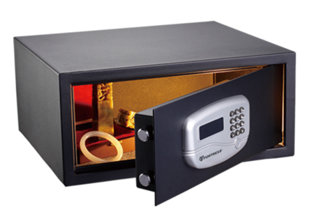 Fortress 195JA - Home Security Safe with Electronic Lock
