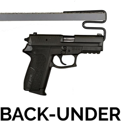 Gun Storage Solutions - Back-Under Handgun Hanger - BUHH2 - 2 Pack