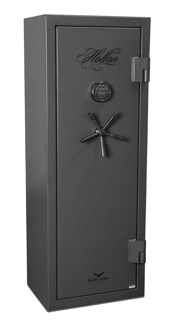 Black Gun Safe In Living Room Decor: Hollon BHS-12E Black Hawk Series 12 Gun Safe BHS-12E