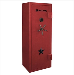 Hollon USA Made - RGX-12 Republic Series - 3 Hour Fire Rated Gun Safe - 12 Gun