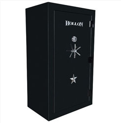 Hollon USA Made - RGX-42 Republic Series - 3 Hour Fire Rated Gun Safe - 42 Gun