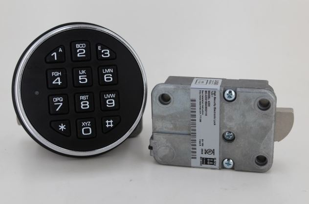 LaGard LG3000 W/ Swingbolt Basic Series Lock - Keypad and Locking Bolt