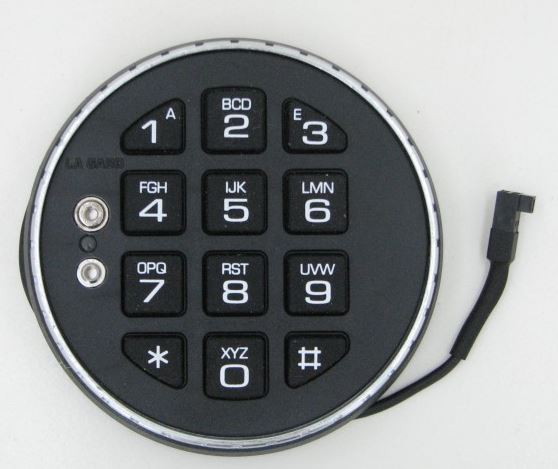 LaGard LG3035 Low Profile Basic Series Lock - Keypad Only