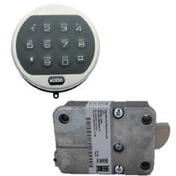 LaGard LG4715 W/ Swingbolt Basic Series Lock - Black Keypad and Locking Bolt