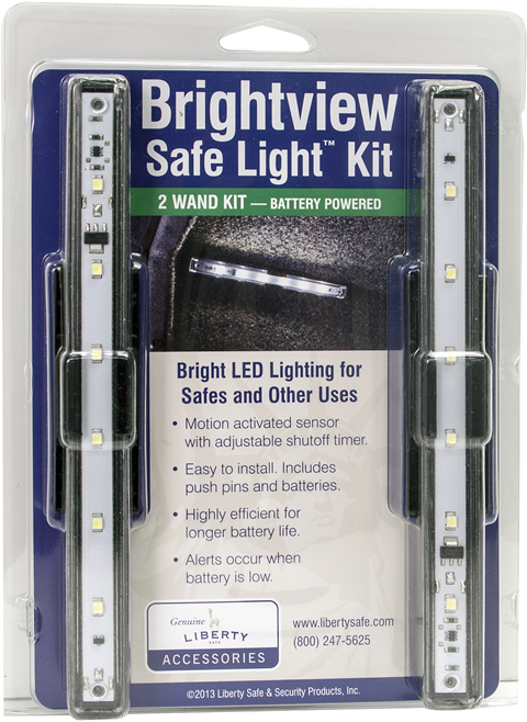 Liberty Brightview Safe Light Kit - 2 Wands