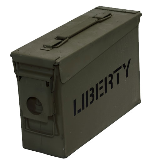 Liberty Safes Ammo Canister .30 Caliber