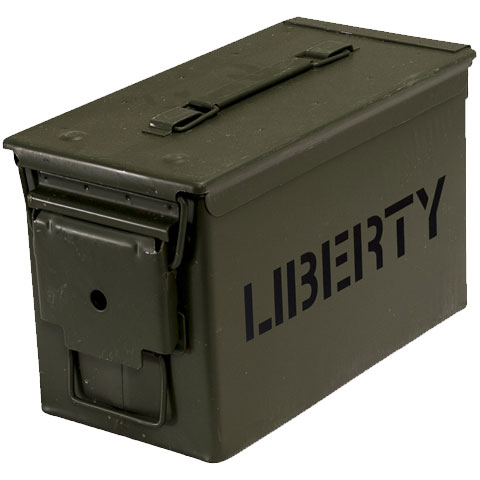 Liberty Safes Ammo Canister .50 Caliber