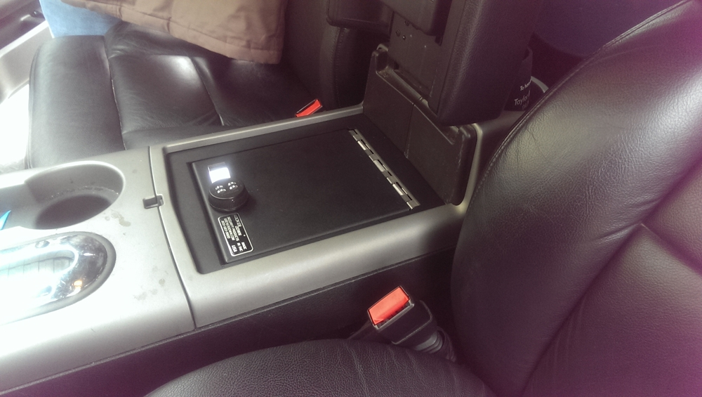 Lock Er Down Console Safe 2005 2008 Ford F150 Lincoln Lt