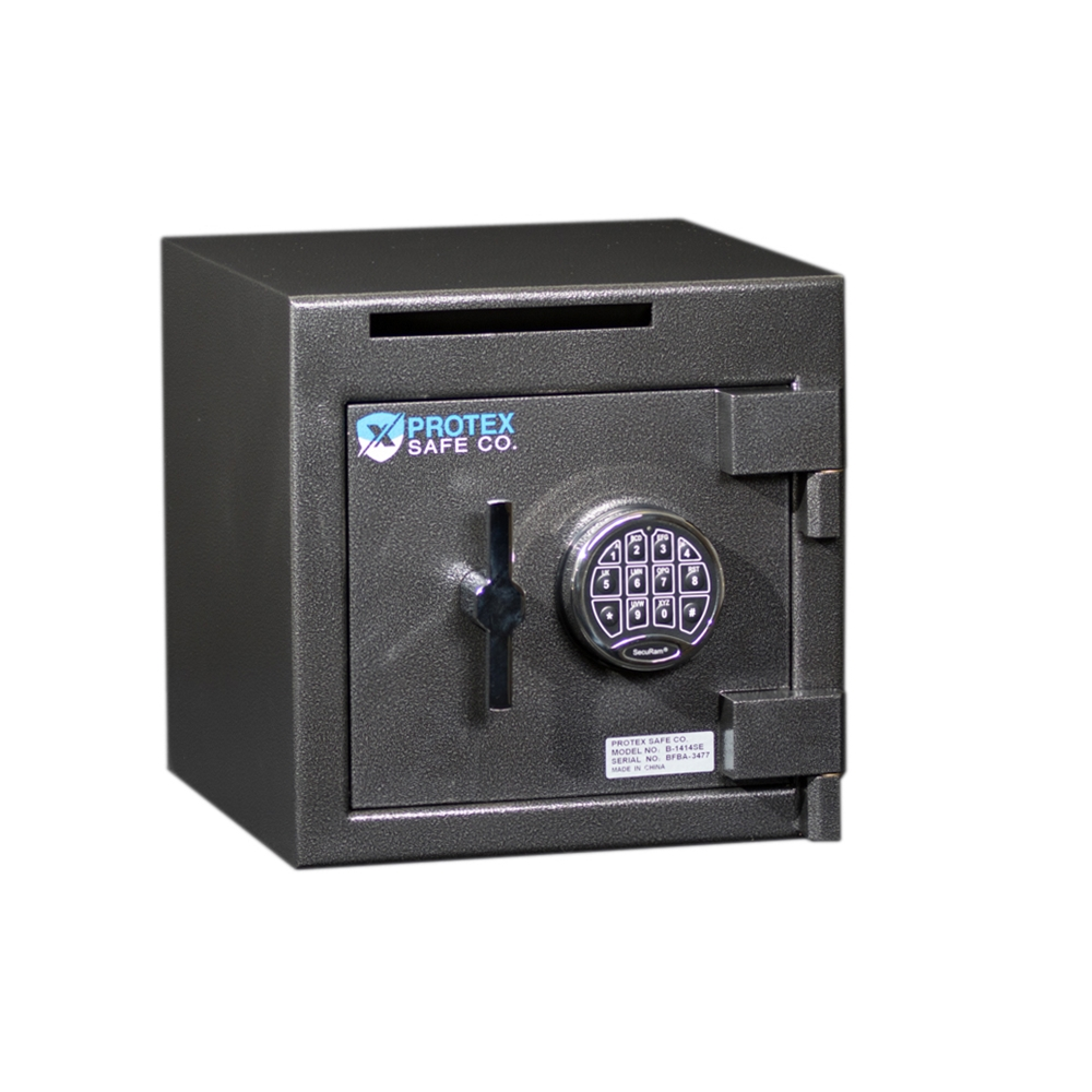 Protex b 1414se security safe w drop slot sb 1414se for Safe and secure products