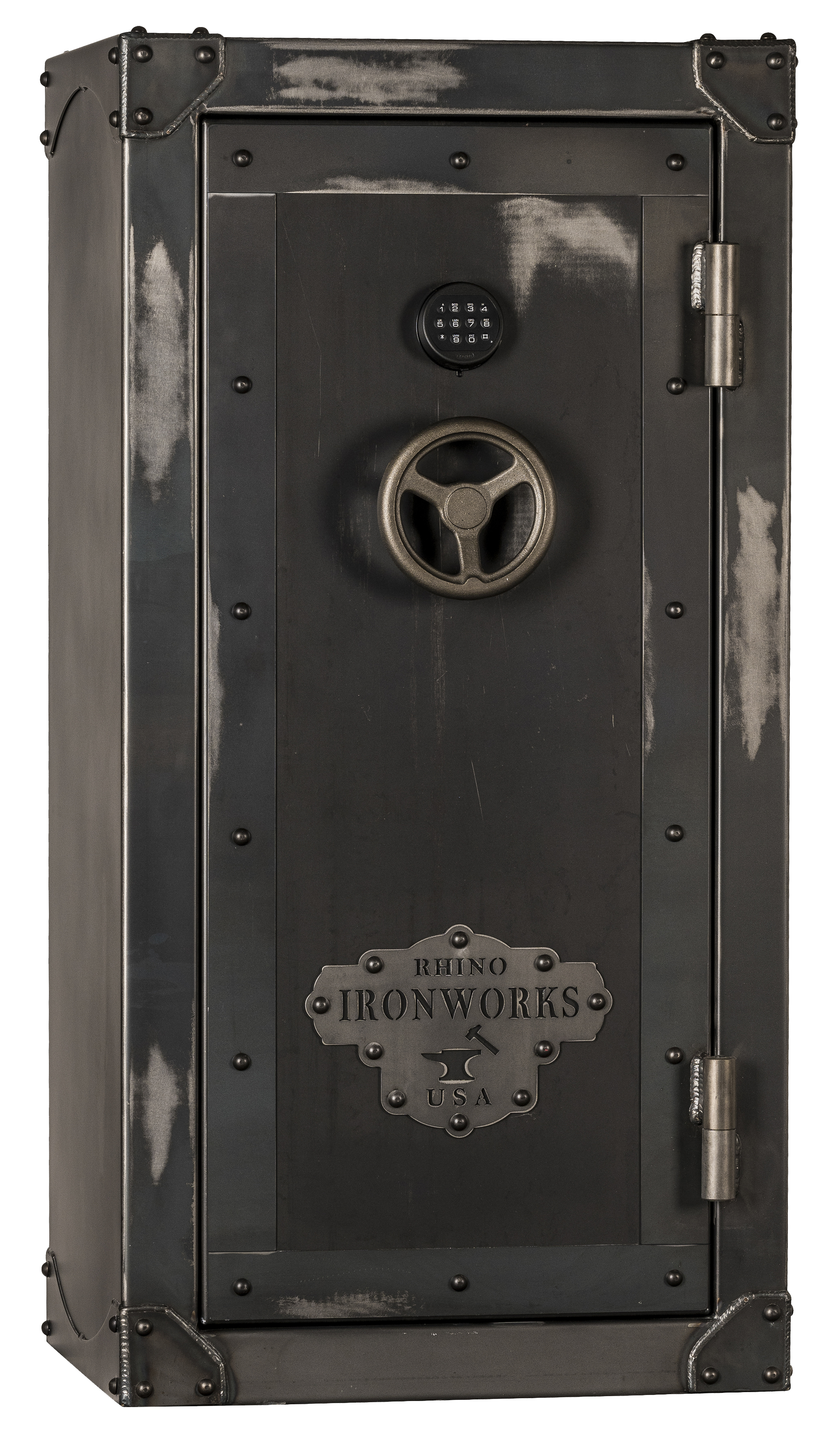 Rhino CIWD6030X Ironworks Series 28 Long Guns 6 Pistol Pockets Gun Safe - CIWD6030X