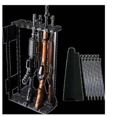 Swing Out Gun Rack System