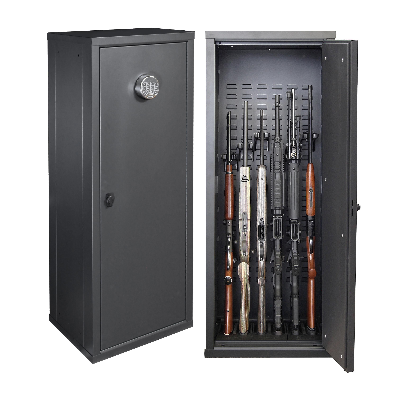 Stock on gun cabinet