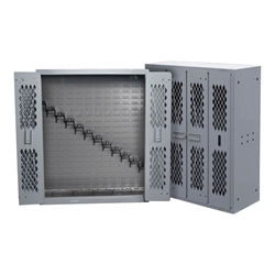 SecureIt Tactical Model 44: 12 Rifle Storage Cabinet