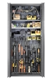 SecureIt Tactical Model 72: 12 Gun Storage Cabinet - SEC-­200-12R
