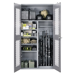 SecureIt Tactical Steel Cabinet / 2500 Gear and Gun Split Storage Cabinet