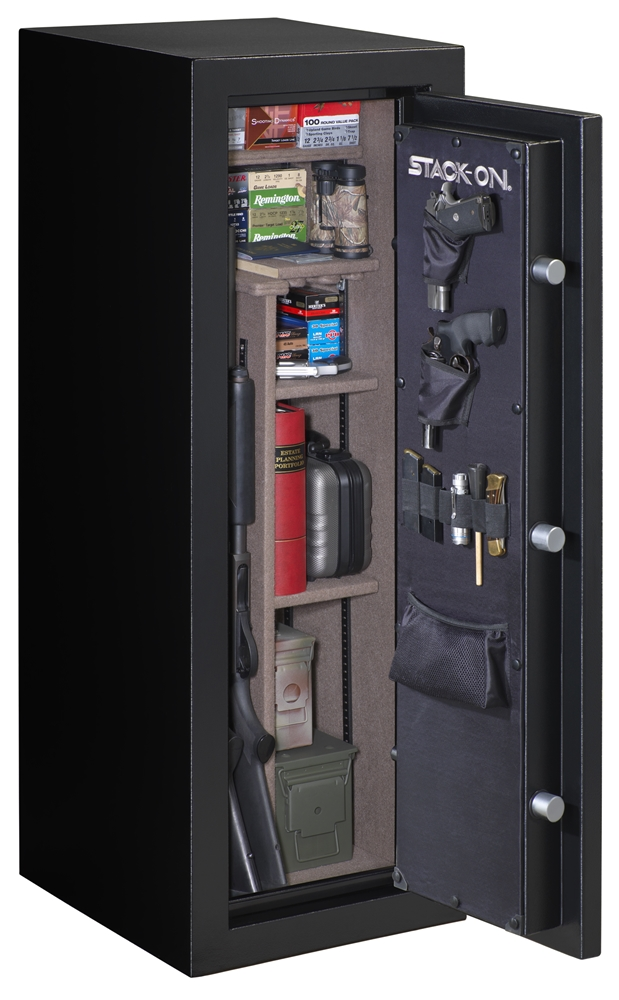 stack-on 22-gun safe with electronic lock