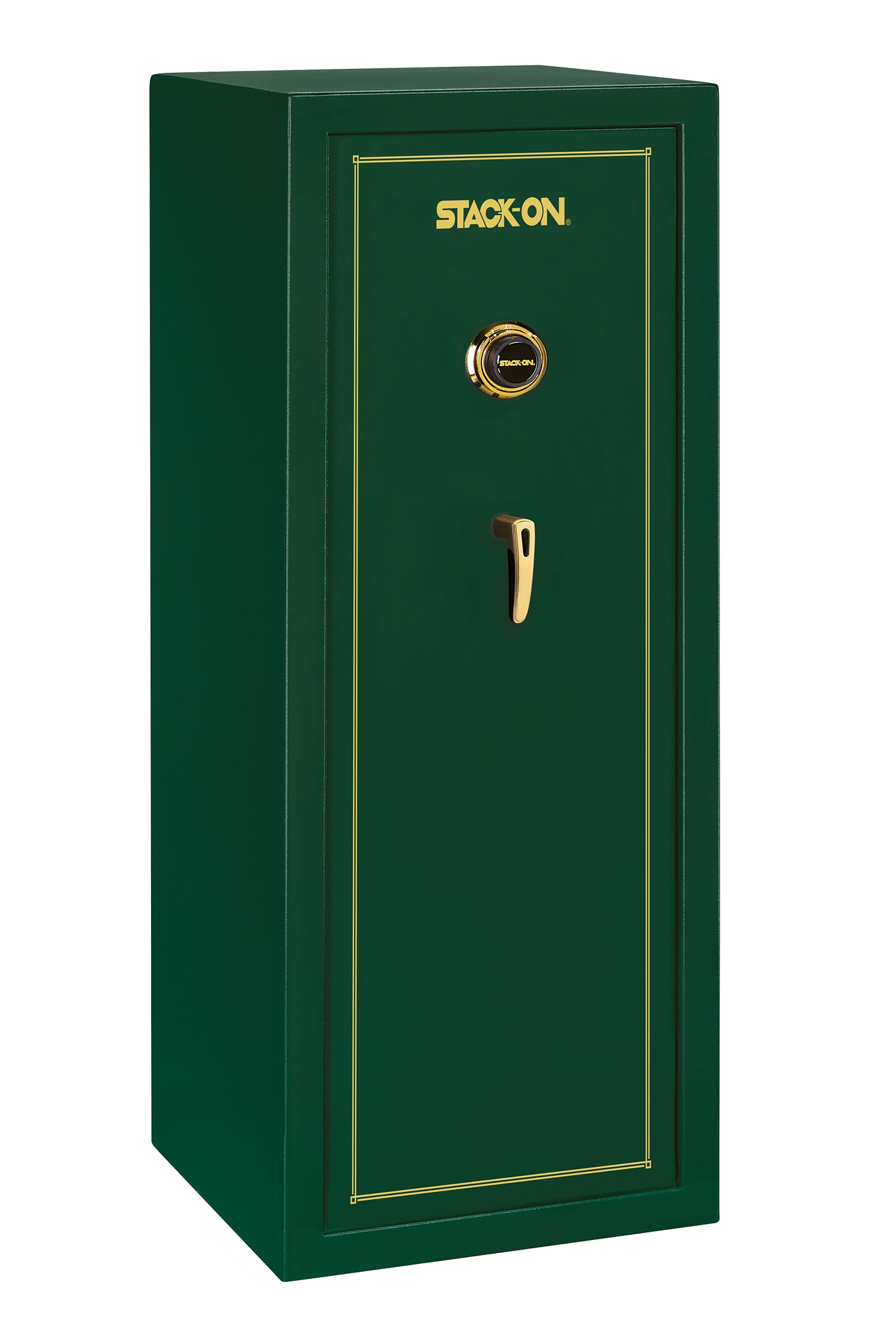 Stack-On SS-Series 16 Gun Safe w/ Combination Lock Hunter Green - SS-16-MG-C