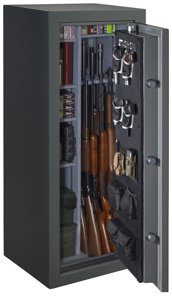 stack on 22 gun safe with electronic lock. Black Bedroom Furniture Sets. Home Design Ideas