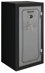 Stack-On Total Defense 36-40 Gun Safe w/Combination Lock Silver/Black